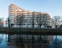 Το κτήριο Gasag aka της Shell Haus είναι ένα κλασσικό νεωτεριστικό αρχιτεκτονικό αριστούργημα που σχεδιάζεται από το Emil Fahrenk Στοκ φωτογραφία με δικαίωμα ελεύθερης χρήσης