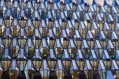 Το κτίριο γραφείων προσόψεων γυαλιού Στοκ φωτογραφία με δικαίωμα ελεύθερης χρήσης