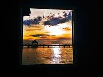 Το κτύπημα Saenείναι beachπόληaκατά μήκος της ανατολικής ακτής ofΤαϊλάνδηΚόλπων Στοκ εικόνα με δικαίωμα ελεύθερης χρήσης