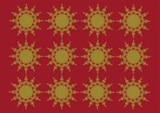 Το κυκλικό πλέγμα διαμορφώνει το σχέδιο απεικόνιση αποθεμάτων