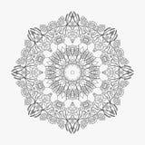 Το κυκλικό σχέδιο περιτυλίχτηκε λουλούδια 4 Στοκ Εικόνες
