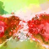 Το κόκκινο λάμπει διανυσματικό υπόβαθρο Στοκ φωτογραφία με δικαίωμα ελεύθερης χρήσης