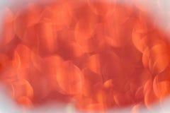 Το κόκκινο ακτινοβολεί Bokeh Στοκ Εικόνες