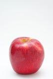 Το κόκκινο μήλων στο άσπρο ύφος υποβάθρου Στοκ φωτογραφίες με δικαίωμα ελεύθερης χρήσης
