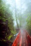 Το κόκκινο μονοπάτι Στοκ Φωτογραφίες