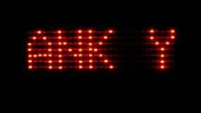 Το κόκκινο να τυλίξει κείμενο με τη λέξη ΣΑΣ ΕΥΧΑΡΙΣΤΕΙ απεικόνιση αποθεμάτων