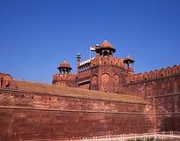 Το κόκκινο οχυρό, παλαιό Δελχί, Ινδία. Στοκ εικόνα με δικαίωμα ελεύθερης χρήσης