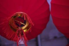 Το κόκκινο φανάρι για το κινεζικό νέο έτος Στοκ Εικόνα