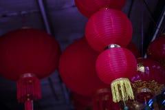 Το κόκκινο φανάρι για το κινεζικό νέο έτος Στοκ εικόνες με δικαίωμα ελεύθερης χρήσης