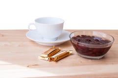 Το κόκκινο φασόλι βράζει τη γλυκιά οργανική τροφή επιδορπίων ζάχαρης Στοκ φωτογραφία με δικαίωμα ελεύθερης χρήσης