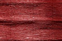 Το κόκκινο χρώμα crepe το έγγραφο Στοκ Εικόνα