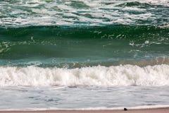 Το κύμα θύελλας θάλασσας, θαλάσσιο υπόβαθρο Στοκ εικόνα με δικαίωμα ελεύθερης χρήσης