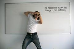 Το κύριο θέμα της εικόνας δεν είναι στην εστίαση Στοκ φωτογραφίες με δικαίωμα ελεύθερης χρήσης