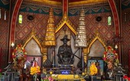 Το κύριο μνημείο του βασιλιά Taksin Στοκ φωτογραφία με δικαίωμα ελεύθερης χρήσης