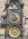 Το κύριο ρολόι της Πράγας Στοκ Φωτογραφία