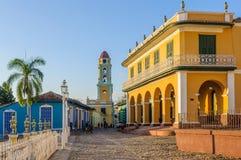 Το κύριο τετράγωνο στο Τρινιδάδ, Κούβα Στοκ εικόνες με δικαίωμα ελεύθερης χρήσης