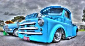 Το κλασικό αμερικανικό τέχνασμα παίρνει το φορτηγό Στοκ φωτογραφία με δικαίωμα ελεύθερης χρήσης