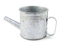 Το κλασικό πότισμα μετάλλων μπορεί απομονωμένος στο άσπρο υπόβαθρο Στοκ Εικόνες