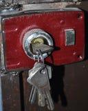 Το κλειδί ασφάλειας Στοκ φωτογραφία με δικαίωμα ελεύθερης χρήσης
