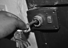 Το κλειδί ασφάλειας Στοκ Φωτογραφία