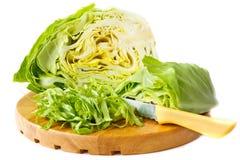 το λάχανο έκοψε φρέσκο στοκ φωτογραφία με δικαίωμα ελεύθερης χρήσης