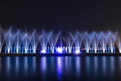 Το λέιζερ παρουσιάζει σε Maltepe, Τουρκία Σκηνή, πυρκαγιά στοκ φωτογραφίες με δικαίωμα ελεύθερης χρήσης