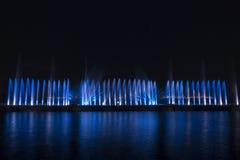 Το λέιζερ παρουσιάζει σε Maltepe, Τουρκία Σκηνή, πυρκαγιά στοκ εικόνα