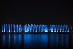 Το λέιζερ παρουσιάζει σε Maltepe, Τουρκία Σκηνή, πυρκαγιά στοκ εικόνα με δικαίωμα ελεύθερης χρήσης