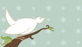 το λίπος πουλιών τραγου διανυσματική απεικόνιση