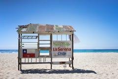 Το Λα Serena, γλυπτό «κατεύθυνσης †«στάσεων λεωφορείου †της Χιλής πρήζεται το φεστιβάλ Αυστραλία στοκ φωτογραφίες