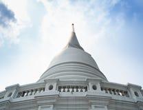 Το λευκό ναών Prayun είναι όμορφο στοκ εικόνες