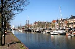 Το λιμάνι Harlingen Στοκ Εικόνες