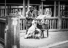 Το λιμενικό άγαλμα Στοκ φωτογραφίες με δικαίωμα ελεύθερης χρήσης