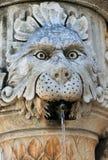 Το λιοντάρι στην πηγή γωνιών στην πλατεία Gundulic στοκ φωτογραφίες με δικαίωμα ελεύθερης χρήσης