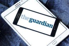 Το λογότυπο Guardian στοκ φωτογραφία με δικαίωμα ελεύθερης χρήσης