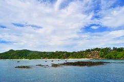 Το Λονγκ Μπιτς Phi Phi φορά το νησί Στοκ φωτογραφίες με δικαίωμα ελεύθερης χρήσης