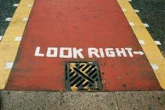 το Λονδίνο κοιτάζει δεξ&i Στοκ φωτογραφία με δικαίωμα ελεύθερης χρήσης