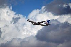 United Airlines Boeing 737-724 Στοκ φωτογραφίες με δικαίωμα ελεύθερης χρήσης