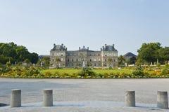 Το λουξεμβούργιο παλάτι. Στοκ Φωτογραφίες