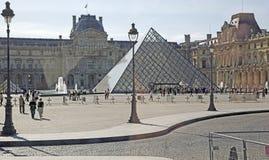Το Λούβρο, Παρίσι, Γαλλία Στοκ Εικόνες
