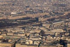 Το «Λούβρο» & το «Musée d'Orsay» Στοκ φωτογραφίες με δικαίωμα ελεύθερης χρήσης