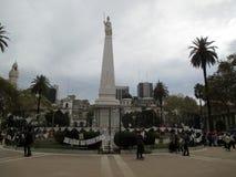 Το Μάρτιο του 2084 των μητέρων Plaza de Mayo στο Μπουένος Άιρες Αργεντινή Στοκ εικόνα με δικαίωμα ελεύθερης χρήσης