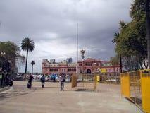 Το Μάρτιο του 2084 των μητέρων Plaza de Mayo στο Μπουένος Άιρες Αργεντινή Στοκ φωτογραφία με δικαίωμα ελεύθερης χρήσης