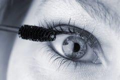 το μάτι αποτελεί Στοκ Φωτογραφίες