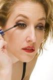 το μάτι μαστιγώνει τη μακρ&omicro στοκ φωτογραφία με δικαίωμα ελεύθερης χρήσης