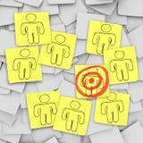 το μάτι πελατών ταύρων σημε&iot διανυσματική απεικόνιση
