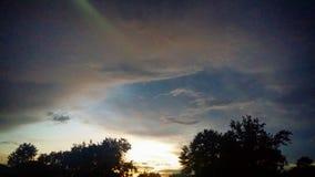 Το μάτι στον ουρανό στοκ φωτογραφίες με δικαίωμα ελεύθερης χρήσης