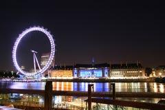 Το μάτι του Λονδίνου Στοκ εικόνες με δικαίωμα ελεύθερης χρήσης