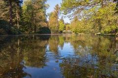 Το μέρος πάρκων παλατιών των κτημάτων κορωνών στο Άπελντορν Στοκ Εικόνα