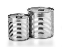Το μέταλλο μπορεί για τα συντηρημένα τρόφιμα Στοκ φωτογραφίες με δικαίωμα ελεύθερης χρήσης